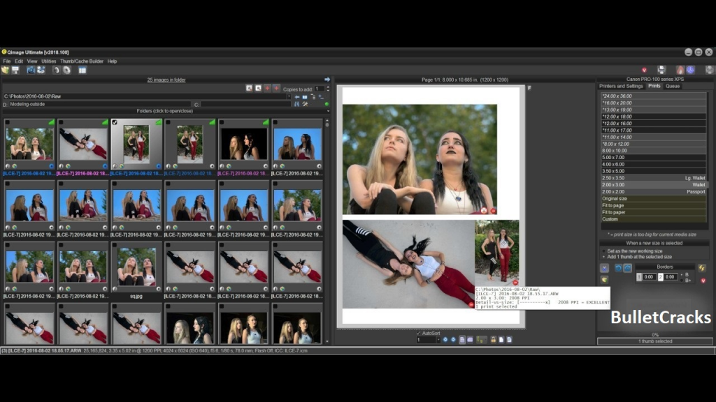 Qimage Ultimate Crack Free Download is a powerful photo editing and printing software. With the help of this amazing software, you can create excellent quality photo prints as well as enhance them.