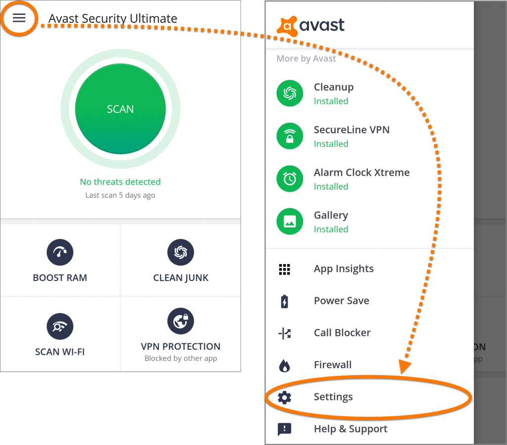 Avast Mobile Security Pro APK Cracked